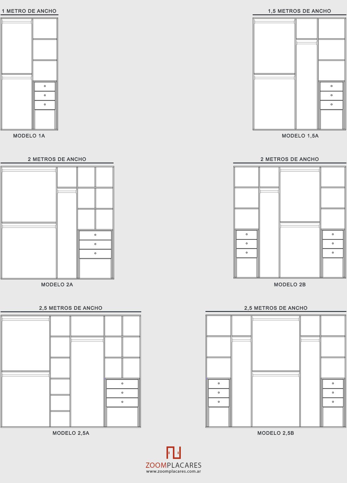 Placares a medida placards hechos a medida en capital for Modelos de dormitorios para ninos